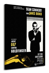 James bond goldfinger - window - obraz na płótnie