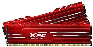 Adata pamięć xpg gamix d10 ddr4 3200 dimm 16gb 2x8 kit czerwona
