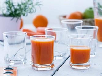 Szklanki do napojów hrastnik geo 280 ml, komplet 6 szt.