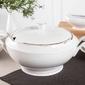 Waza do zupy porcelana ćmielów feston złoty pasek 3604 3,0 l