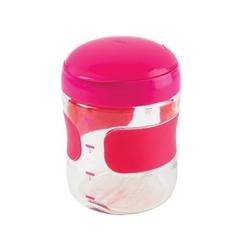 Pojemnik przekąski oxo 200 ml - pink