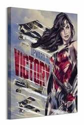 Wonder Woman Upward To Victory - obraz na płótnie