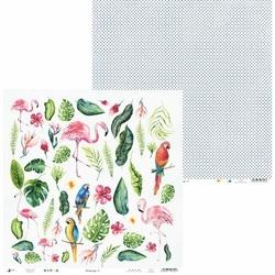 Papier Lets flamingle 30,5x30,5 cm - 07 - 07