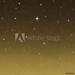 Obraz na płótnie canvas rozgwieżdżone nocne niebo