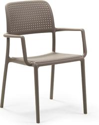 Krzesło ogrodowe bora taupe