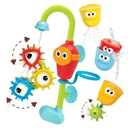 Wesoły kranik i wirujące trybiki  - zabawka do kąpieli