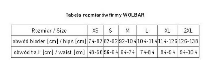 Figi wolbar leda rozmiar: m, kolor: biały, wolbar