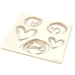 Serca - miłosne dekoracje