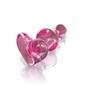 Szklany korek analny icicles no. 75 różowy   100 dyskrecji   bezpieczne zakupy
