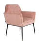 Dutchbone :: fotel kate różowy