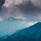 Góry prowincji como - plakat premium