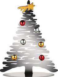 Dekoracja świąteczna Bark for Christmas srebrna