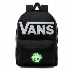 Plecak szkolny Vans Old Skool III - VN0A3I6RY28 - Custom lumi - Cute Skull