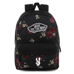 Plecak do szkoły vans realm botanical check - vn0a3ui6uwx - custom rock  roll - rock  roll