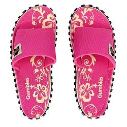 Klapki damskie gumbies - różowy