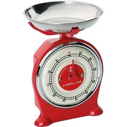 Minutnik kuchenny w kształcie wagi scale zassenhaus czerwony zs-071771