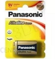 Bateria panasonic 9v 6lr61 alkaline blister 1szt. - możliwość montażu - zadzwoń: 34 333 57 04 - 37 sklepów w całej polsce