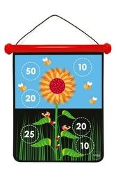 Magnetyczne rzutki rozmiar m - ogród