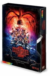 Stranger Things Sezon 2 VHS - notes A5