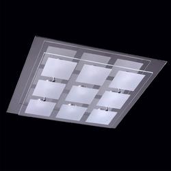 Kwadratowa, duża lampa sufitowa demarkt techno 678010609