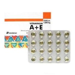 Vitaminum a+e 2500j.m a+200mg e x 40 kapsułek