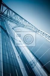 Obraz ruch z mostu
