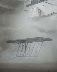 Swallows tail furniture :: stół masiv dębowy