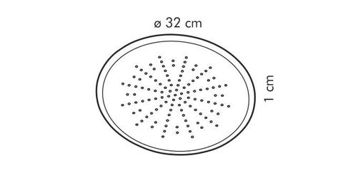 Tescoma forma na pizzę perforowana delicia d- 32 cm