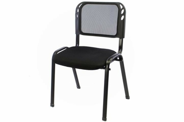 Krzesło biurowe czarne, konferencyjne