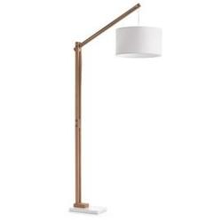 Lampa podłogowa izar biała
