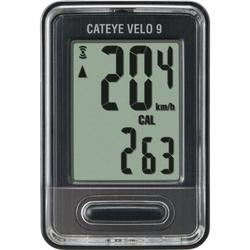 Licznik rowerowy cateye velo 9 cc vl820 czarny