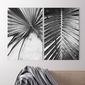 Zestaw dwóch obrazów - tropical skeleton , wymiary - 40cm x 50cm 2 sztuki