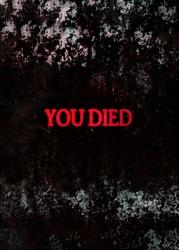 Dark Souls - YOU DIED - plakat Wymiar do wyboru: 29,7x42 cm