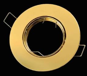 Oprawa okrągła ruchoma, odlew - złoty