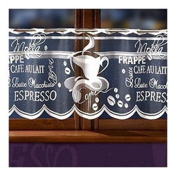 Firanka coffee wysokość 50 cm