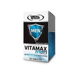 Real pharm vitamax men 60 tabs
