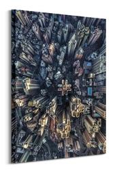 From above - obraz na płótnie