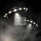 Obraz ufo w mgle