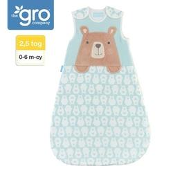 Śpiworek grobag -2,5 tog - bennie the bear 0-6 m-cy