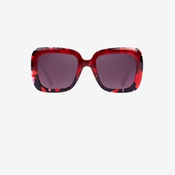 Okulary hawkers tulip red butterfly - butterfly