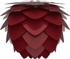 Lampa aluvia średnia rubinowa czerwień