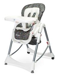 Caretero bistro graphite krzesełko do karmienia + puzzle