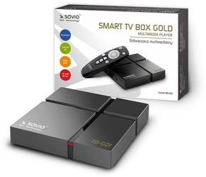 Savio Smart TV Box Gold TB-G01 - Szybka dostawa lub możliwość odbioru w 39 miastach