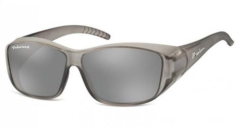 Szare okulary z polaryzacją hd fit over dla kierowców, na okulary korekcyjne fo4e