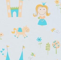 Tapeta uśmiechnięta księżniczka princess 7347-18 lotta