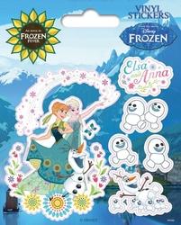 Gorączka lodu frozen fever - naklejka