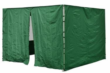 Ścianka 2 szt. 298216 cm, do pawilonów 3x3 m,  z suwakiem i bez, zielona