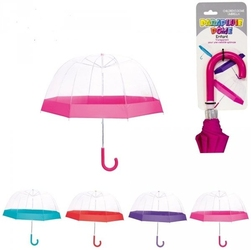 Parasolka transparentna dla dziecka przezroczysta