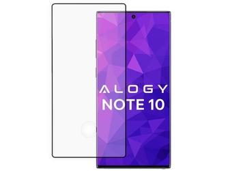 Szkło hartowane alogy full glue do galaxy note 10 czarne + szkło na obiektyw