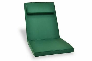 Poduszka na fotel siedzisko zielona do foteli ogrodowych